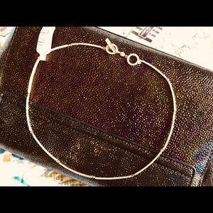 Henri Bendel Gold Necklace/Choker NWT